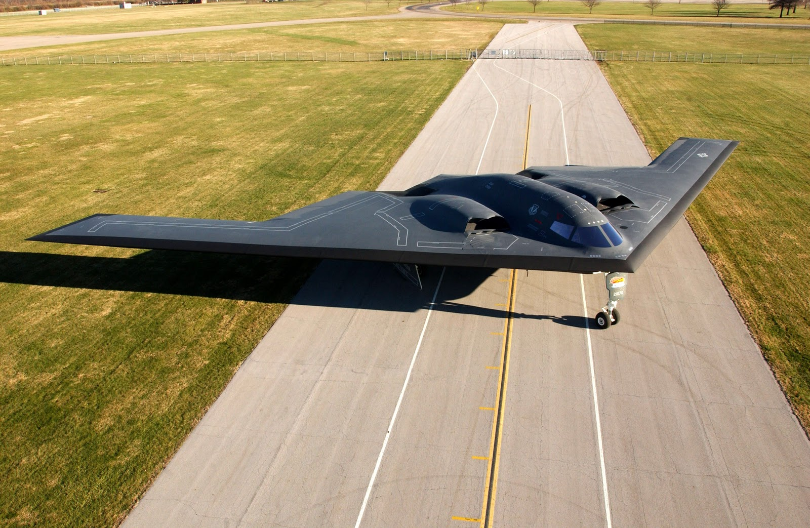 the adjacent of the stealth technology in military aircrafts in the us
